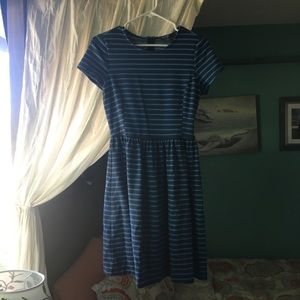 Blue Striped Dress by Peter Som
